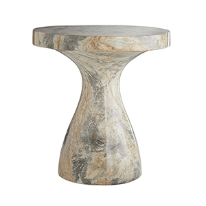 Serafina Sahara Faux Marble Accent Table