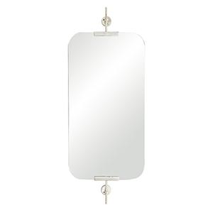 Madden Polished Nickel Wall Mirror