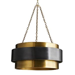 Nolan Gold Four-Light Pendant