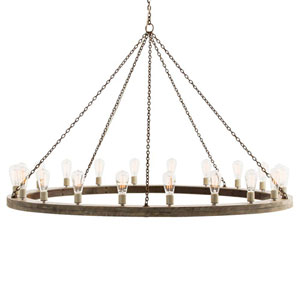 Geoffrey Gray 40-Inch 20-Light Chandelier