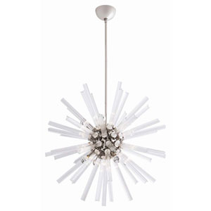 Hanley Fluted 52-Inch Eight-Light Mini Chandelier