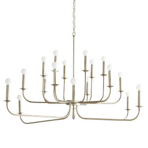 Breck Silver 18-Light Chandelier