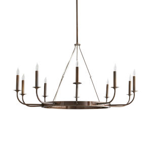 Berlin Heritage Brass 10-Light Chandelier