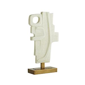 Martin Faux Marble Sculpture