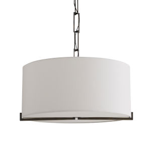 Ray Black Four-Light Pendant