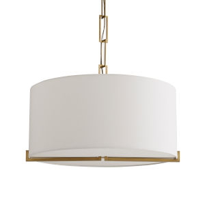 Ray Gold Four-Light Pendant