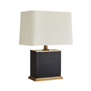 Frank Ponterio Antique Brass Two-Light Vena Lamp