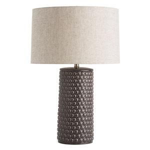 Paula Charcoal Crackle One-Light Lamp