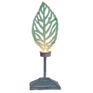 Iron Leaf Large Tealight Candle Holder