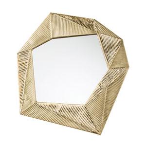 Pitney Brass Mirror