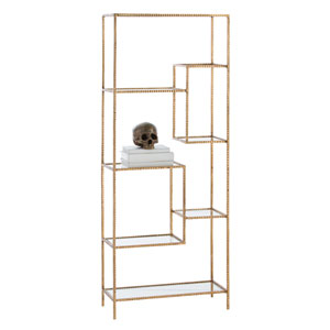 Worchester Gold Leaf Etagere