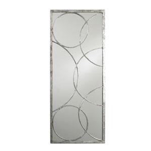 Nikita Silver Leaf 45-Inch Mirror
