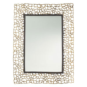 Bransen Gold Leaf 45-Inch Mirror