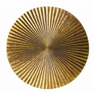 Apollo Metallic Gold 18-Inch Medium Plaque Wall Decor