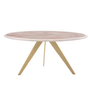 Essex Gold Leaf Cocktail Table