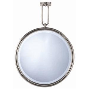 Lander Antique Nickel 33-Inch Mirror