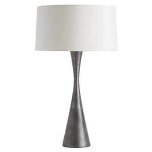 Narsi Antiqued Aluminum Lamp