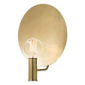 Lorita Polished Brass One-Light Electrified Wall Sconce