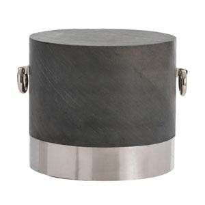 Neil Polished Nickel Side Table
