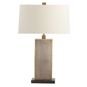Graham Brass Welds 17-Inch One-Light Table Lamp