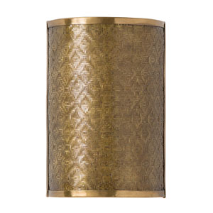 Fable Vintage Brass Two-Light Sconce