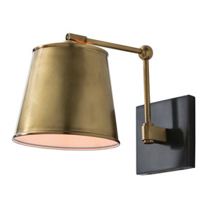 Watson Bronze One-Light Wall Sconce