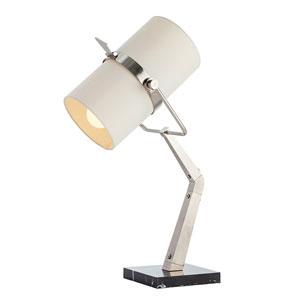 Juniper Black Two-Light Desk Lamp
