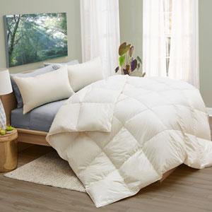 Twin Down All Season Organic Comforter