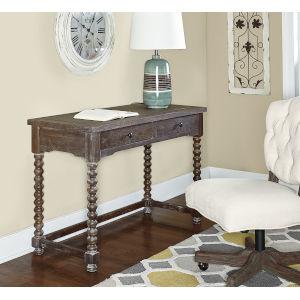 Olivia Brown Spindle Desk
