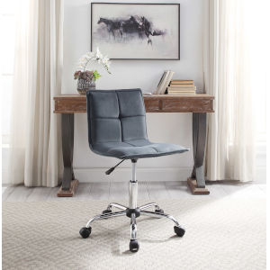 Maria Silver Office Chair