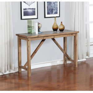 Charlotte Rustic Brown Acacia Console Table