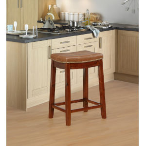 Benjamin Dark Espresso Counter Stool