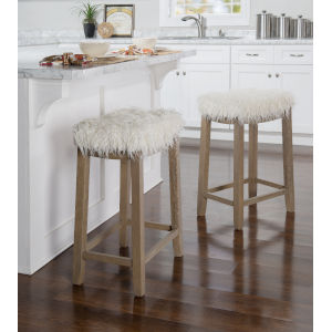 Benjamin Driftwood Counter Stool