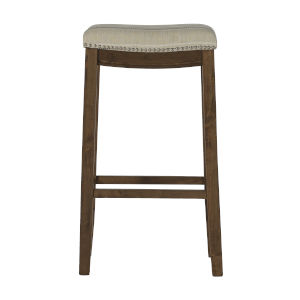 Benjamin Brown Bar Stool
