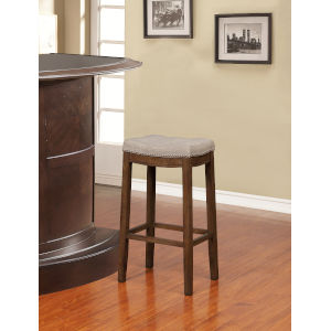 Benjamin Rustic Backless Bar Stool