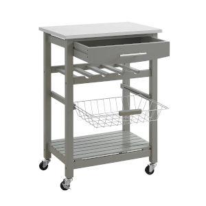 Elijah Gray Kitchen Cart