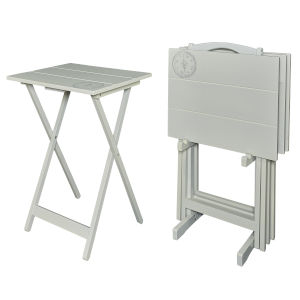 Dylan Gray 19-Inch Tray Table Set