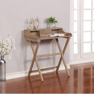 Coy Rustic Brown Folding Desk