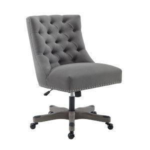 Evelyn Light Gray Office Chair