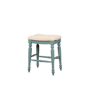 Jackson Blue Backless Counter Stool