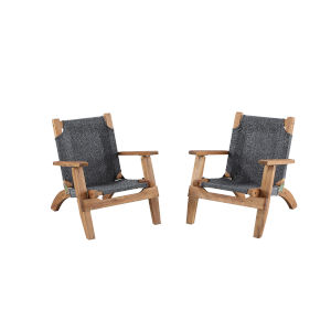Rosemary Kids Brown Outdoor Four Piece Set
