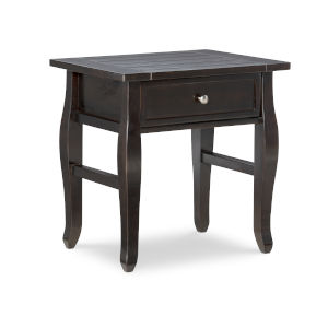 Ramey Espresso End Table