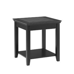 Leslie Black End Table