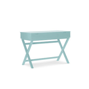 Pamela Pastel Turquoise Lift Top Stand Up Desk