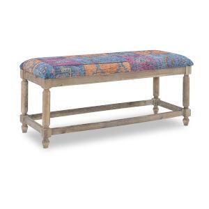 Carmen Driftwood 45-Inch Jewel Bench