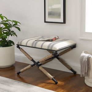Oliver Black, Natural and Beige Thomas Ottoman