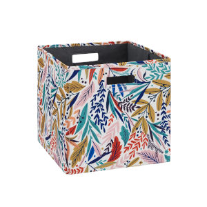 Liam Multicolor Floral Storage Bin, Pack of 2