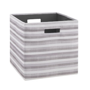 Ellis Gray and Green Storage Bin, Pack of 2