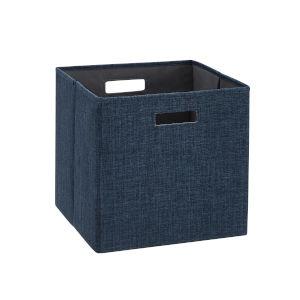 Liam Navy Storage Bin, Pack of 2