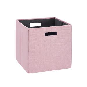 Liam Pink Storage Bin, Pack of 2